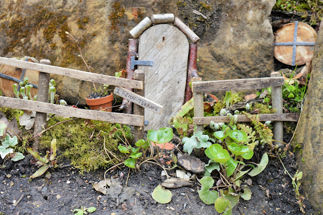 a little fairy door.