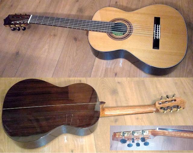 Guitarra española Martínez MCG 50