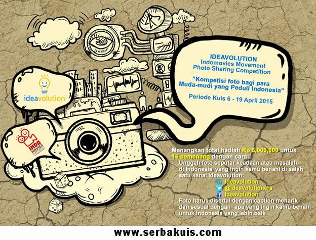 Indomovies Movement Sharing Berhadiah Total 5 Juta
