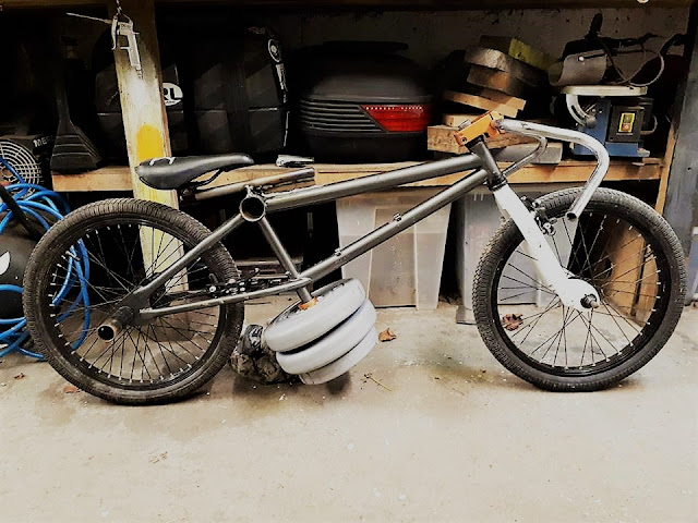 Project G-Bomb - Mercenary Garage Gravity Bike