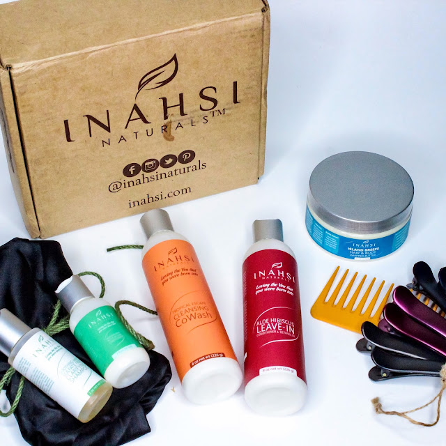 Video: Inahsi Naturals Curated Collection Unboxing and Review