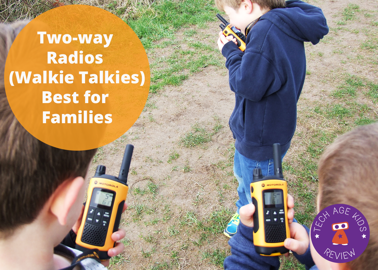 Buying Two-way Radios (Walkie Talkies) for Kids and Families