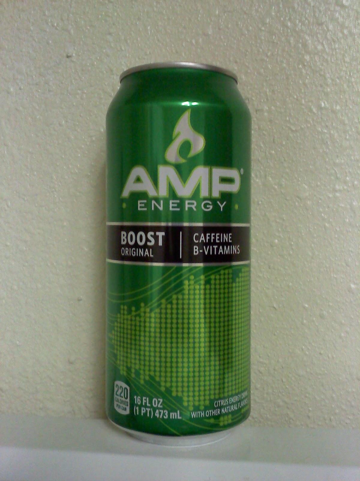caffeine review for amp energy boost original