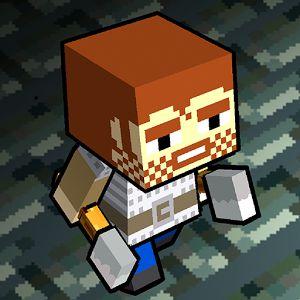 personaje estilo minecraft