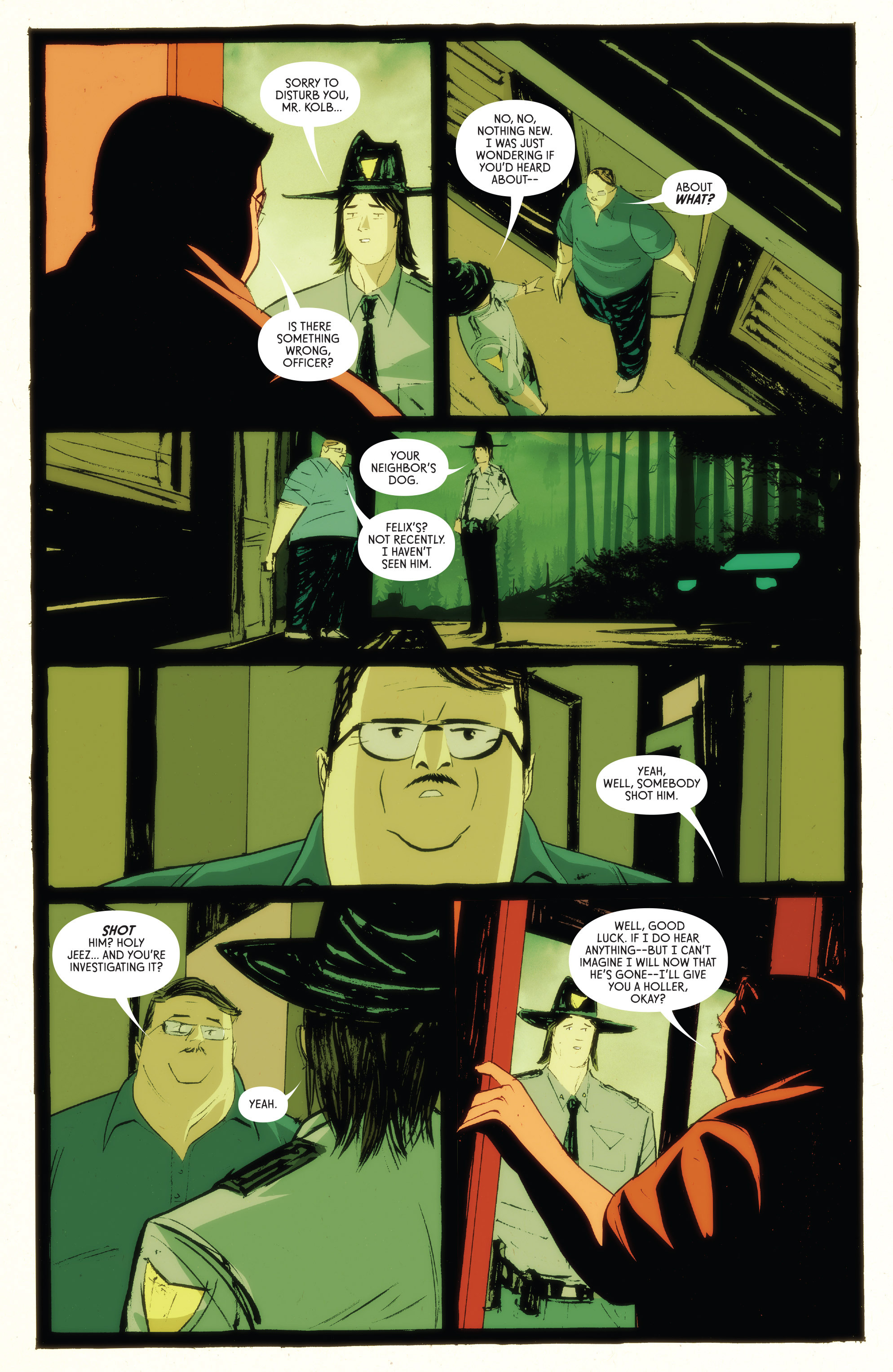 Read online American Monster comic -  Issue #5 - 14