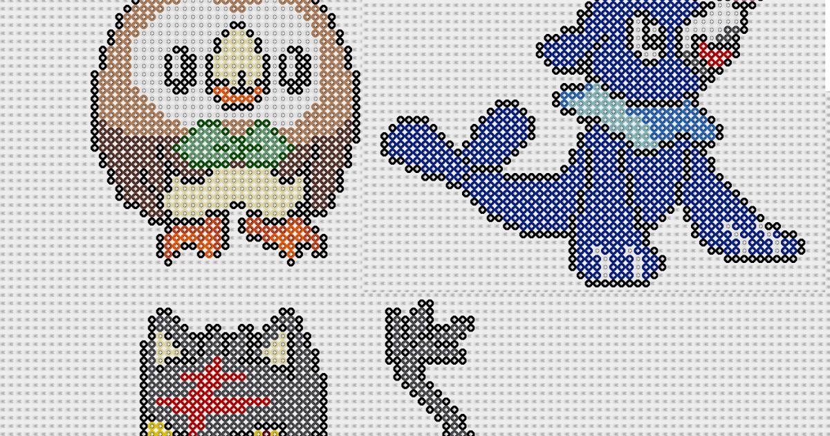 pixel art en perle hama pokemon nouvelle generation en perles repasser. Black Bedroom Furniture Sets. Home Design Ideas