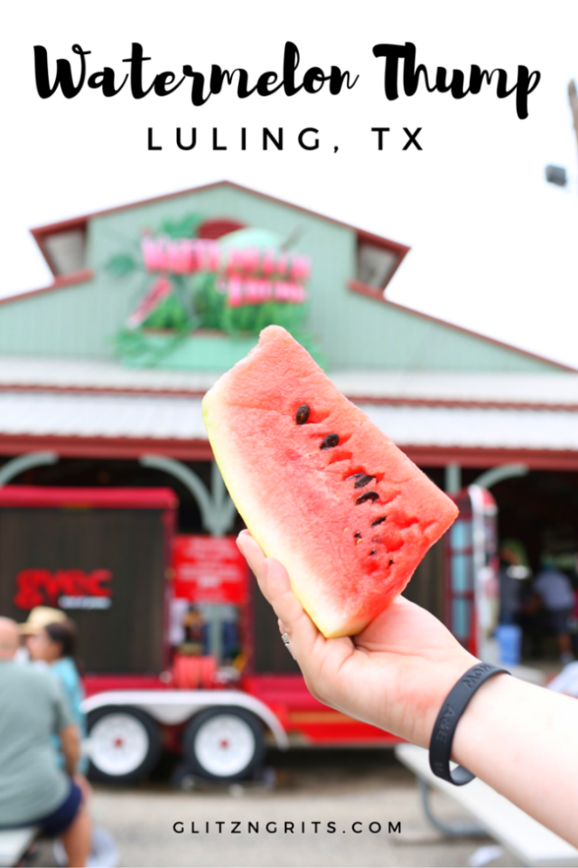 Watermelon Thump Luling Texas