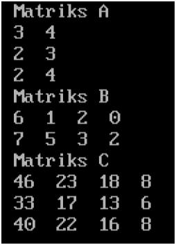 Program Perkalian Matriks C++ : program, perkalian, matriks, Berbagi, Pengetahuan, Informasi:, Program, Perkalian, Matriks