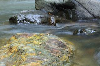 Colorful Rock in Rio Viejo, Puriscal