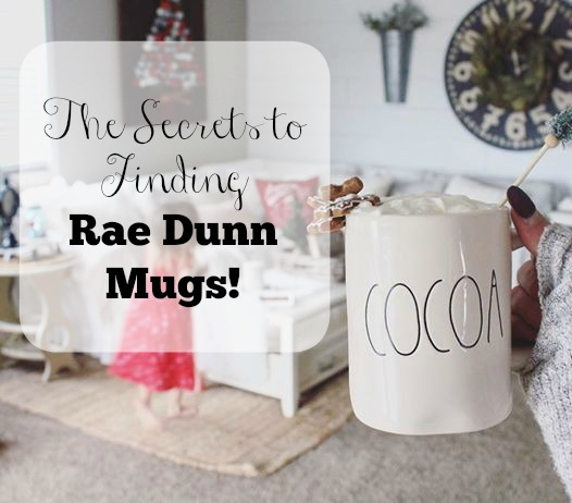 Where And How To Find Rae Dunn Mugs The Glam Farmhouse