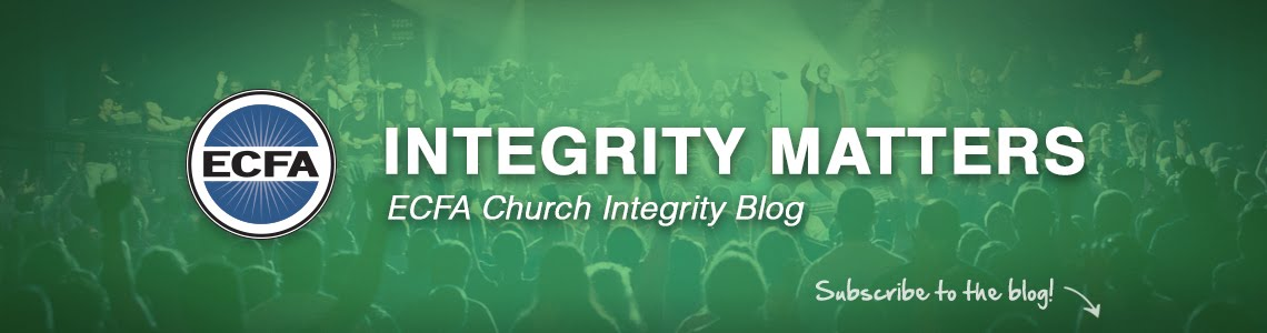 Integrity Matters - ECFA Church Integrity Blog