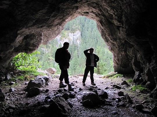 Jaskinia Obłazkowa. Wejście do jaskini.