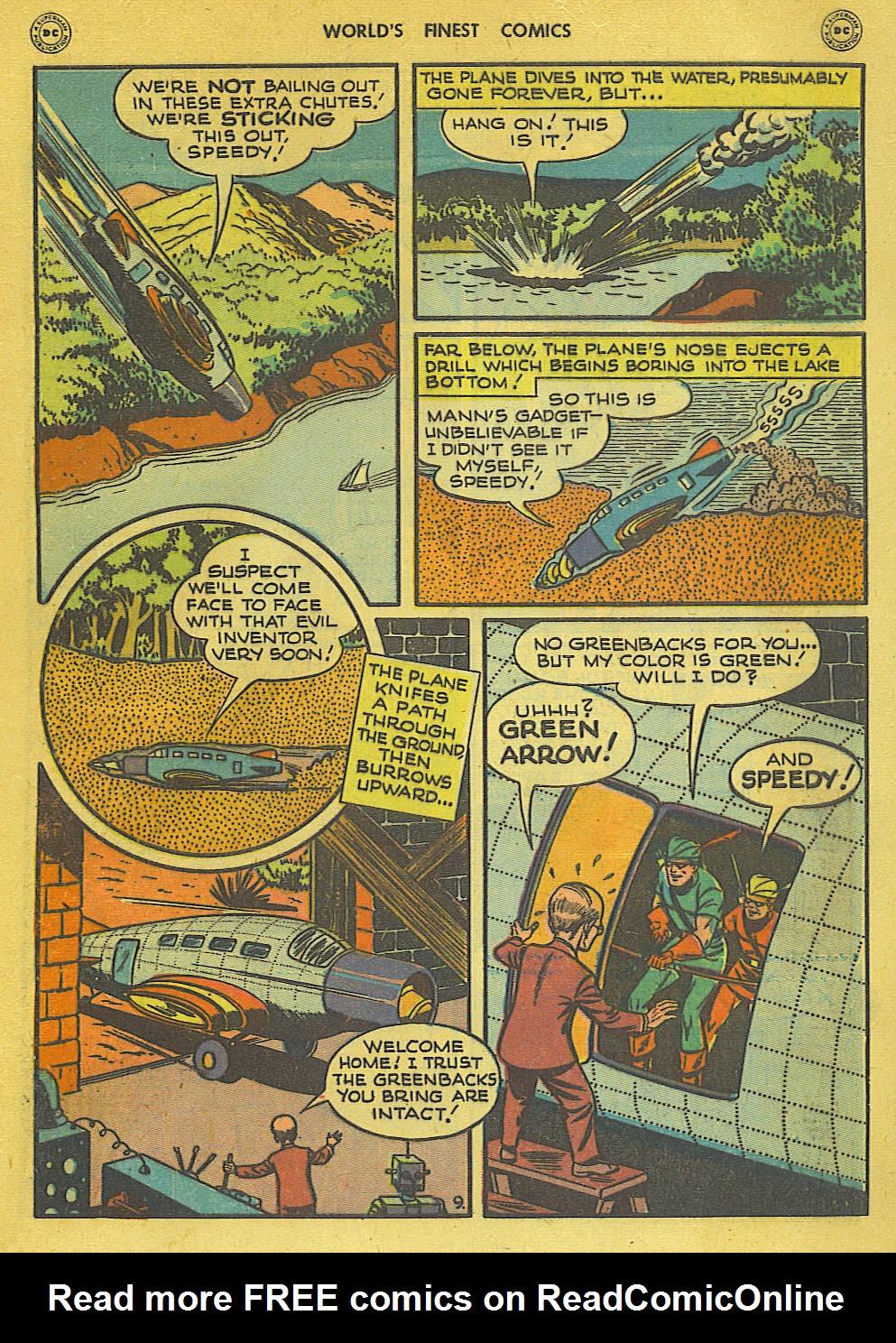 Read online World's Finest Comics comic -  Issue #34 - 49