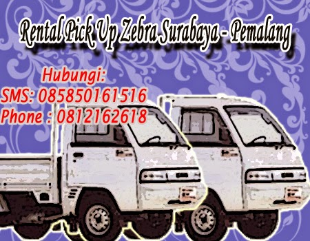 Rental Pick Up Zebra Surabaya - Pemalang