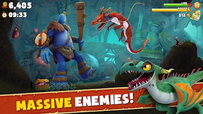 Hungry Dragon™ MOD APK v1.0  Full HACK Unlimited Money for Android Terbaru 2017