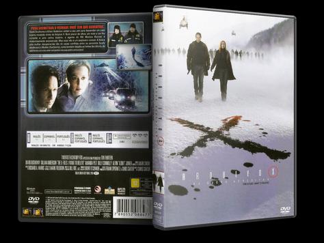 Capa DVD Arquivo X: Eu Quero Acreditar