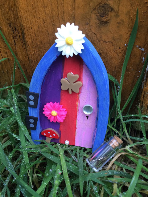 Paint your Own Irish Fairy Door- A Review