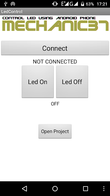Led Control Android app