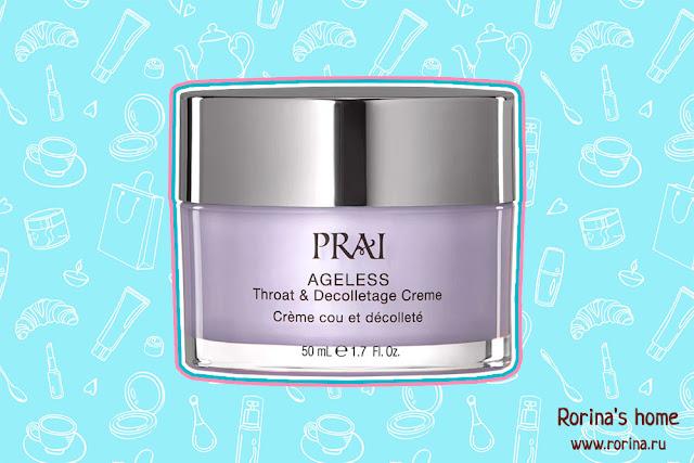 Крем для области шеи и декольте PRAI AGELESS Throat & Decolletage Crème