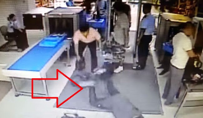 Man Who Caused 64 Year Old Lady Tripped on His Bag Sued for 5 Million Pesos