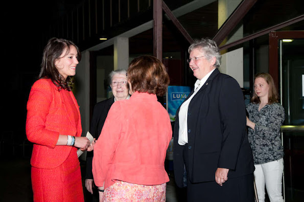 "Princess Alexandra of Luxembourg attended the 60th anniversary of the ""Week Follereau / Campaign for Leper"""