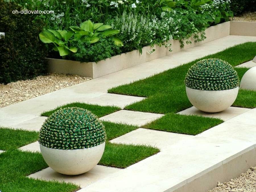 Cactus y diseño de jardín