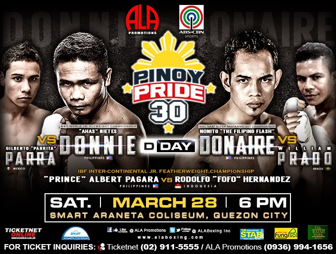 Pinoy Pride 30 Fight Results