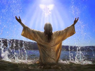 Jesus Baptism - Artist unknown