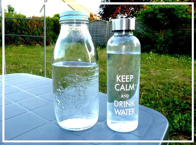 remplacer les bouteilles en plastique par des bouteilles en verre