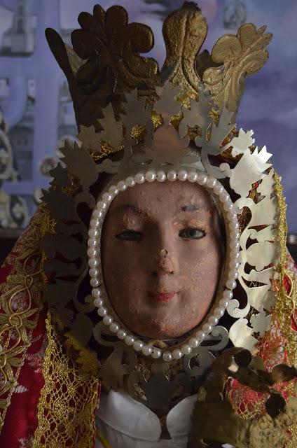 Primitiva talla Virgen de la Cabeza Baena