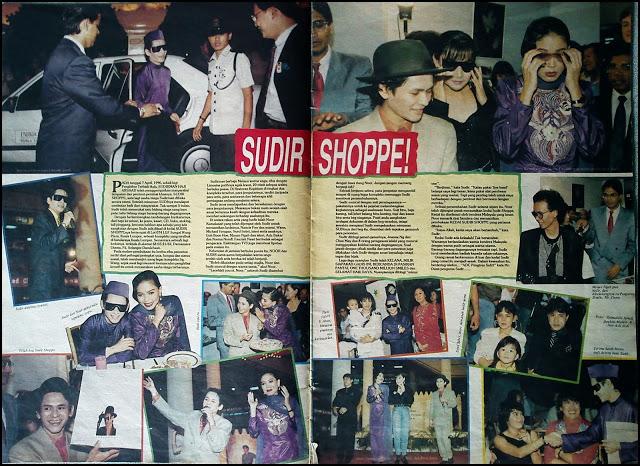 Sudir Shoppe salah satu perniagaan milik Allayarham Dato' Sudirman Haji Arshad