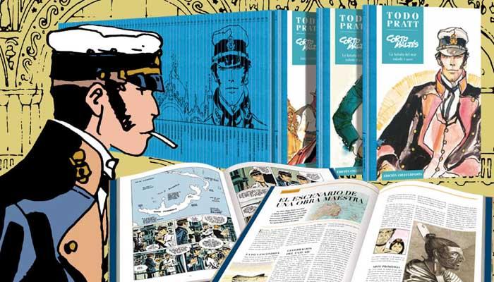 Todo Pratt: La colección con todo lo publicado por el autor del Corto Maltes