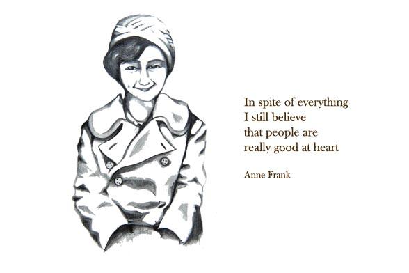 Esther Lankhaar Art & Illustrations: Anne Frank