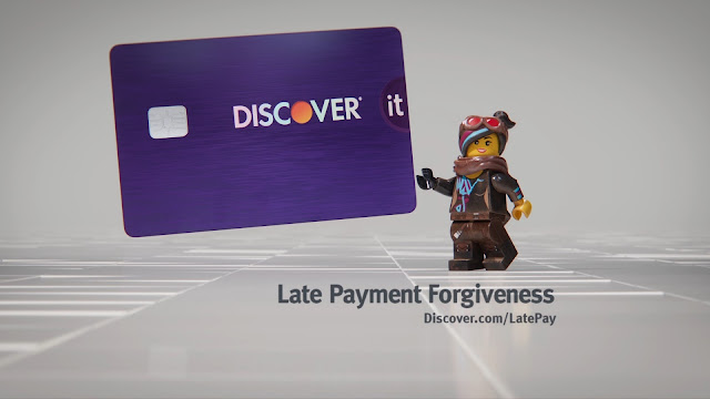 Discover Partners with LEGO for  Not Awesome  Ad Campaign