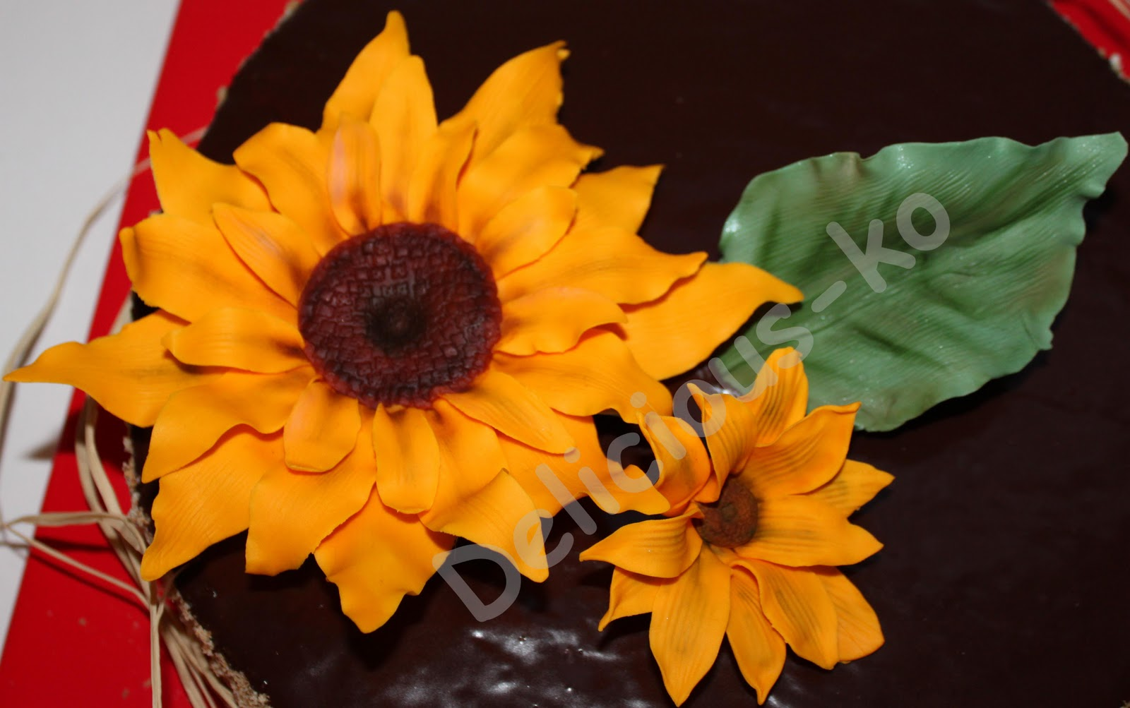 Delicious Cakes  and more Sonnenblume herstellen
