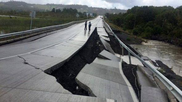 Σεισμός στη Χιλή: 4.000 άνθρωποι απομακρύνθηκαν από τα σπίτια τους