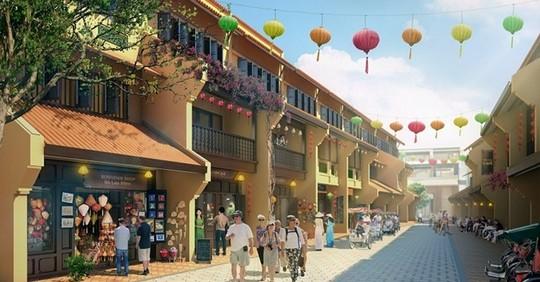 Xây phố cổ Hà Nội bên vịnh Hạ Long có cả đại siêu thị