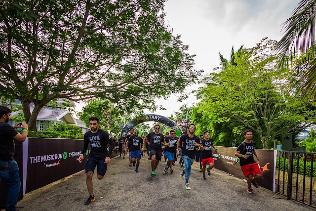 'THE MUSIC RUN™' IS BACK TO ROCK BANGALORE #LIVETHEBEAT