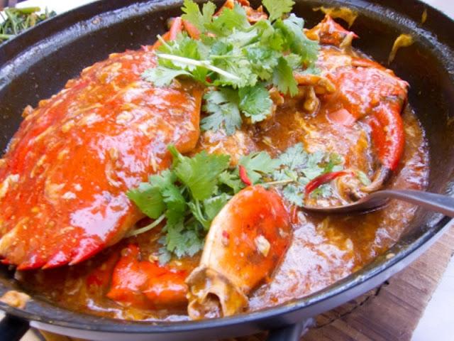 Cara Membuat Kepiting Pedas Asam Manis