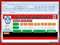 Unduh Aplikasi Raport Kurikulum 2013 Revisi 2016-2017