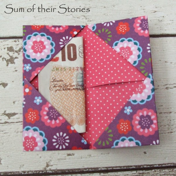 Cash Gift Wallet - Sum of their Stories