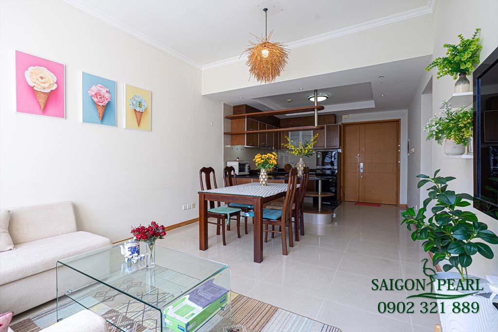 Căn hộ 2 phòng ngủ cao cấp Saigon Pearl cho thuê - 4