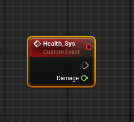 Health_Sys Custom Event