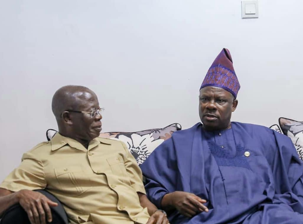 Image result for Oshiomhole by DSS, says Amosun