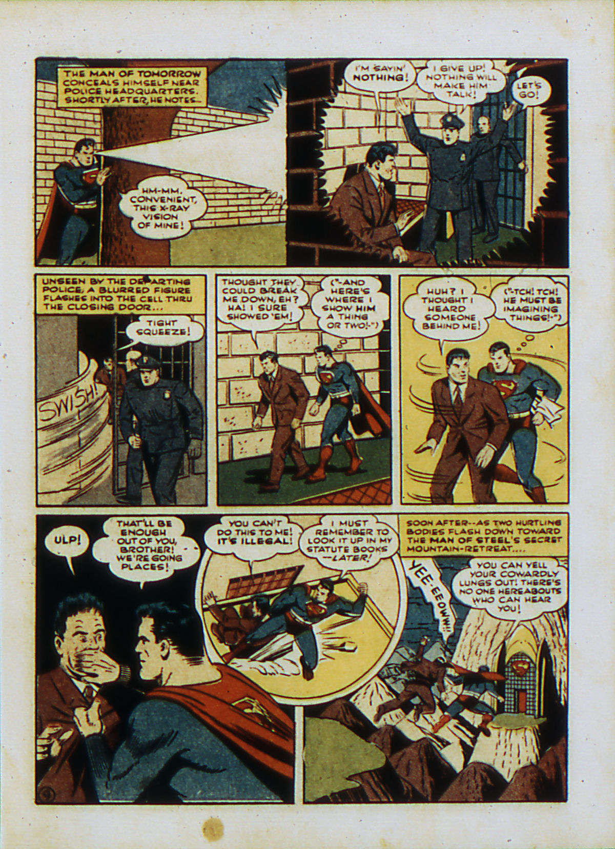 Read online Action Comics (1938) comic -  Issue #53 - 12