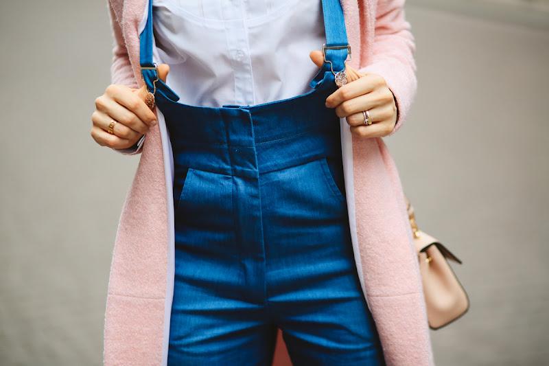 джинсы на высокой талии купить