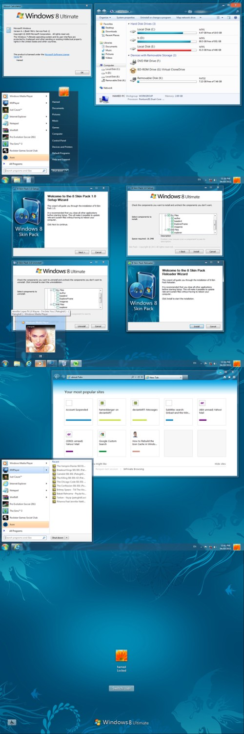 windows 8 transformation pack for windows 7