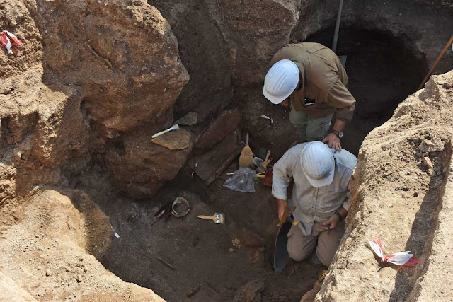Another intact tomb found at the Etruscan site of Vulci