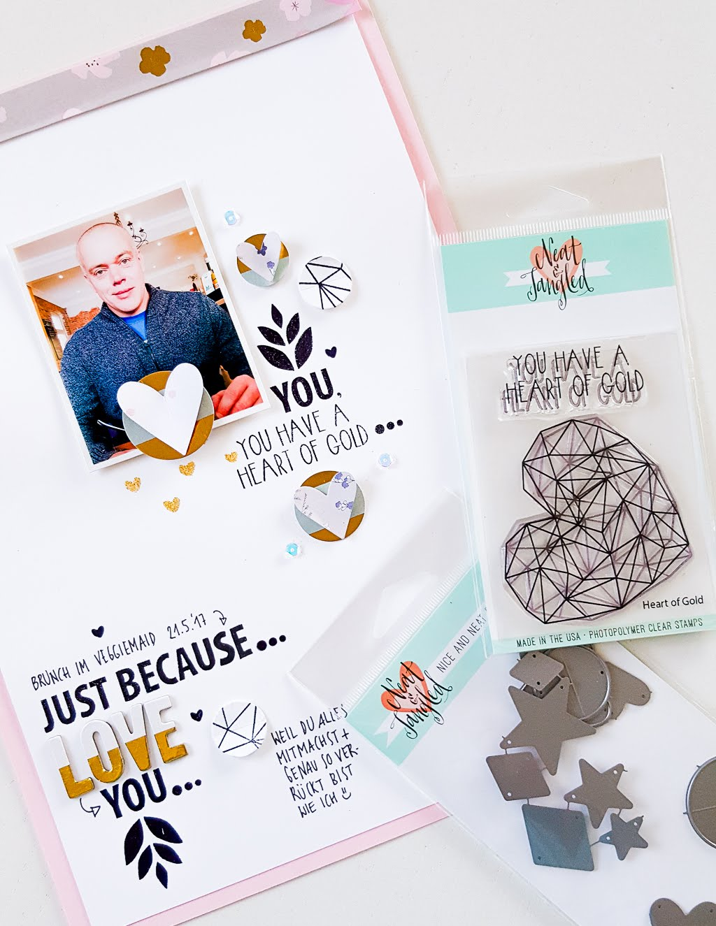 Scrapbooking Layout | Janna Werner für Neat and Tangled