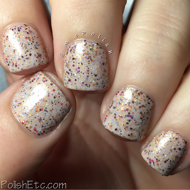 Nine Zero Lacquer - Holiday 2016 Collection - McPolish - Stuffed (crelly)